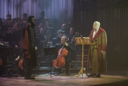 Scrooge and the Ghost Of Christmas Yet To Come (Kyle Scatliffe)