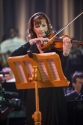 "Holly Mulcahy as Concertmaster and ""The Irish Fiddler"""